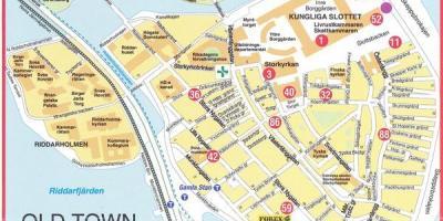 Tukholman Kartta Kartat Tukholma Sodermanland Ja Upplanti Ruotsi
